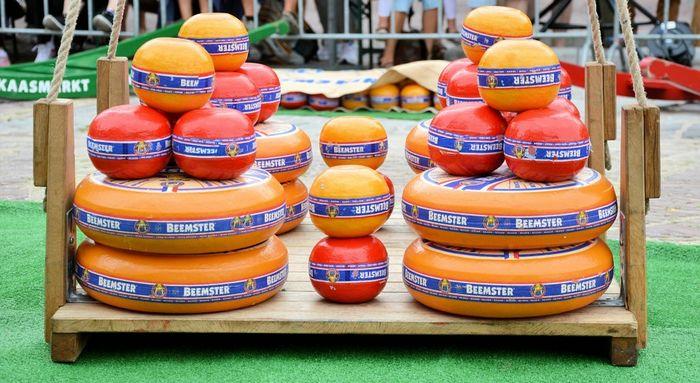 Сырный рынок. Нидерланды