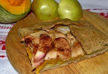 Пирог из ржаной муки - пошаговый рецепт