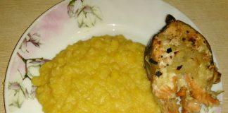 Горбуша с луком в духовке - пошаговый рецепт