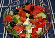 классический греческий салат - пошаговый рецепт