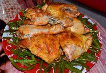 курица в чесночном соусе - пошаговый рецепт