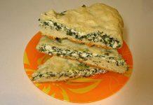 Осетинский пирог с сыром и зеленью - пошаговый рецепт
