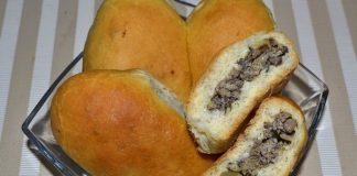 Пирожки с печенью в духовке - пошаговый рецепт