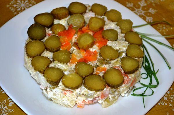 Салат столичный с ветчиной - пошаговый рецепт