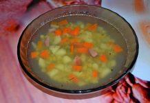гороховый суп с копченостями - пошаговый рецепт