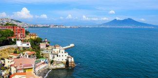 Неаполь и Везувий