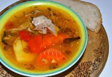 шурпа из баранины - пошаговый рецепт