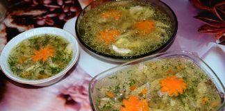 холодец из утки - пошаговый рецепт