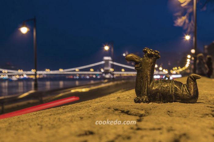 Миниатюра на набережной Дуная в Будапеште
