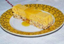 десерт из тыквы и творога с овсяными хлопьями - пошаговый рецепт