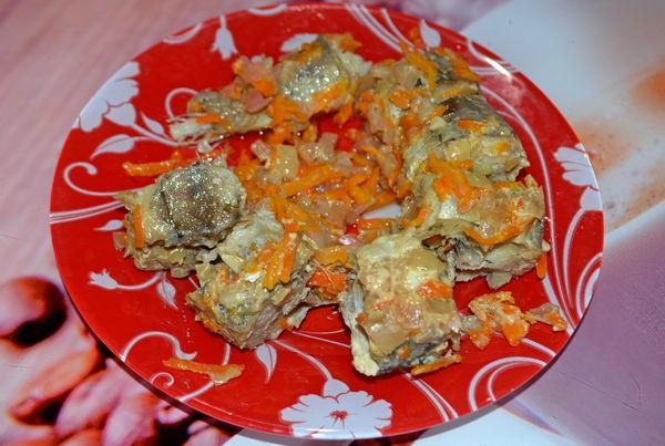 Минтай запеченный в духовке с пошаговым фото рецептом