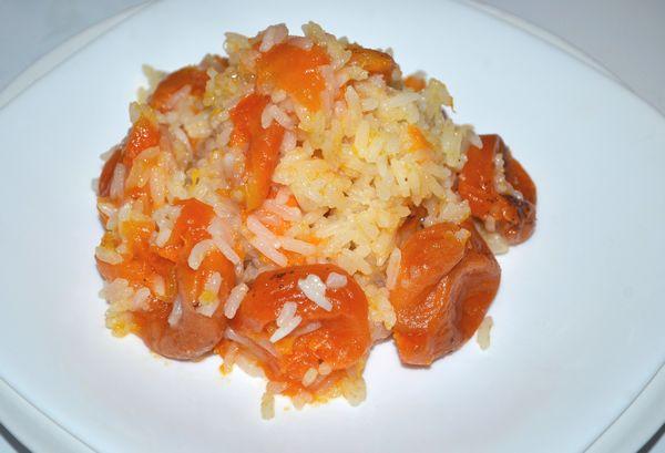 рисовая каша с курагой - пошаговый рецепт