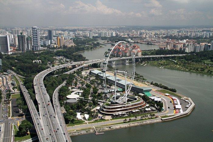 Колесо обозрения, Сингапур