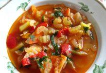 Суп с сельдереем и фасолью - пошаговый рецепт