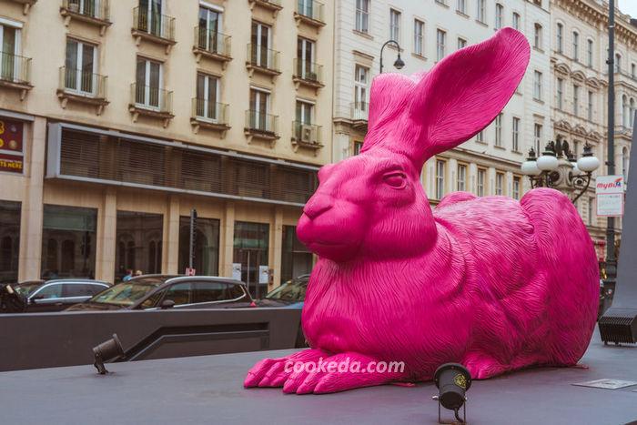 Розовый заяц Дюрера