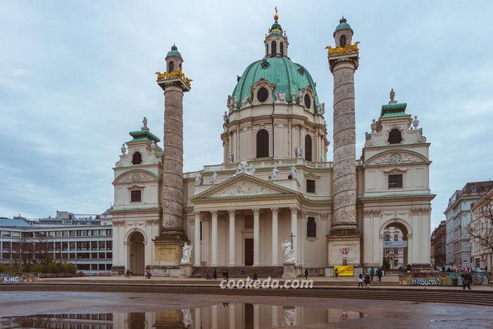 церковь Карлскирхе