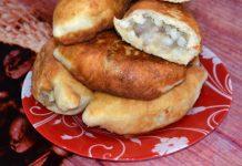 пирожки с картошкой и грибами на сковороде - пошаговый рецепт