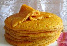 блины из тыквы с манкой на кефире - пошаговый рецепт