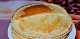 пышные блины на воде - пошаговый рецепт с фото