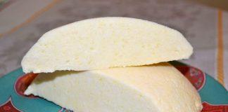 домашний сыр из творога на кефире - пошаговый рецепт с фото