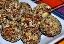 конфеты из сухофруктов и орехов - пошаговый рецепт