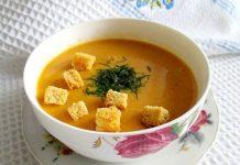 суп-пюре из красной чечевицы в мультиварке - пошаговый рецепт