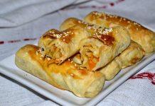 Вэрзере - молдавские пирожки с капустой - пошаговый рецепт с фото