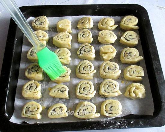 Сладкое картофельное печенье «Улитки»