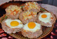 мясные корзинки с начинкой - пошаговый рецепт