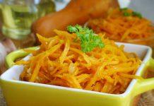 Тыква по-корейски - пошаговый рецепт