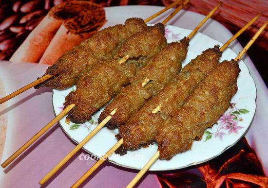 Люля-кебаб из свинины в духовке
