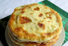 лепешки с сыром и картошкой - рецепт с фото