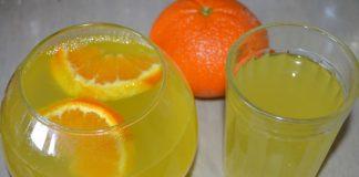 Лимонад из апельсина и лимона в домашних условиях