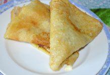 Блины на майонезе и яйцах без молока - рецепт