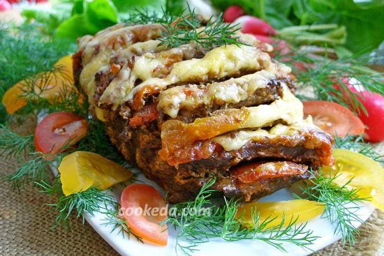Мясо гармошка в духовке - рецепт