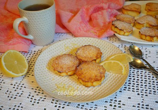 лимонные творожники в духовке