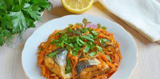 Рыба по-гречески - рецепт с фото