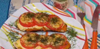 Баклажаны с овощами и сыром в духовке - рецепт