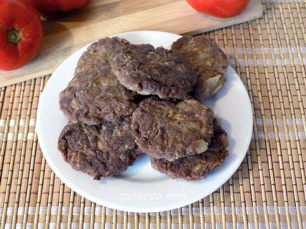 Котлеты с овсянкой и мясным фаршем - рецепт