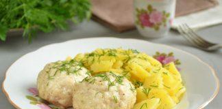 Тушеная картошка с тефтелями - рецепт