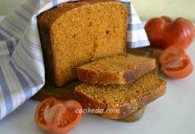 томатный хлеб на ржаной закваске - рецепт
