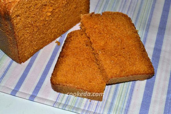 томатный хлеб на ржаной закваске