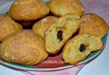 творожные булочки в духовке - рецепт