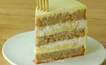 Банановый торт с банановым кремом